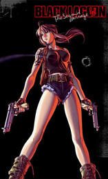 Black Lagoon: The Second Barrage - D.R